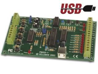 Carte Velleman k8055/VM110