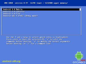 Android sous VirtualBox