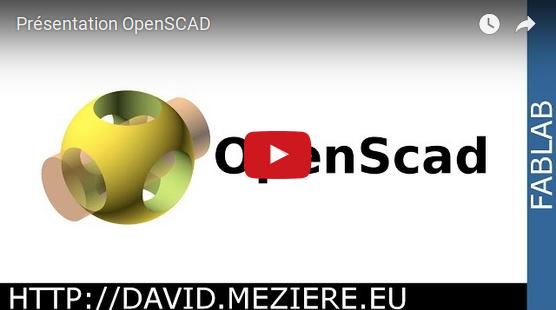 Présentation d'OpenSCAD