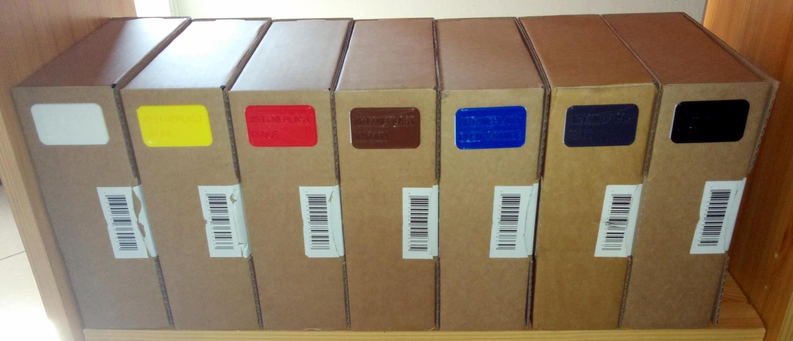 Boîtes de filament